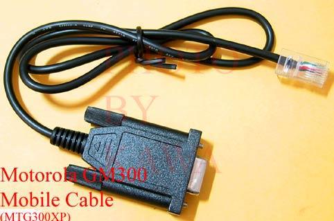20X MTG300XP Programming cable Motorola Maxtrac GM300 CDM SM50 M1225