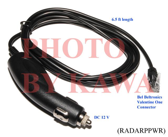 20X RADARPPWR BELTRONICS VALENTINE ONE ESCORT PASSPORT RADAR CAR POWER NEW