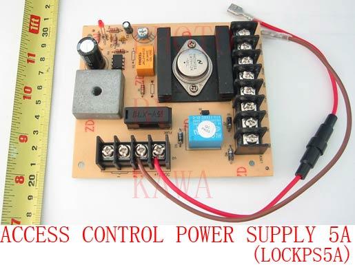 5X LOCKPS5A DIY Door Access Control Power Supply 12V 5A w/ UPS NEW